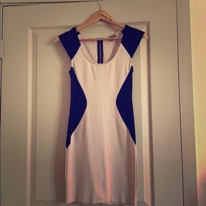 Express form-fitting dress